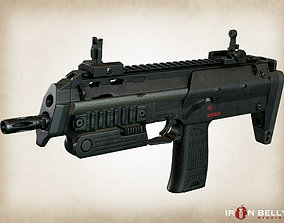 3D asset AAA FPS MP7A1