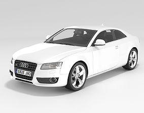 Audi A5 Coupe 2009 3D model