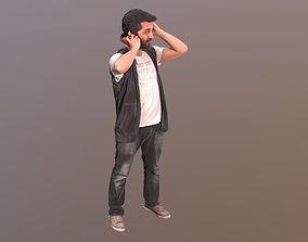 3D model No67 - Guy With Headphones