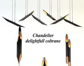 3D Chandelier delightfull coltrane set luster