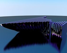 Parametric abstract shape 3D model