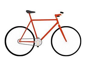 red bike 5 3D