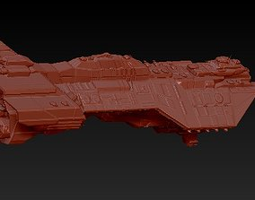 3D print model Heavy cruiser