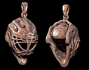 Hockey Goalie Mask 3D print model