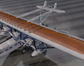 Sikorsky S-40 American Clipper 3D model