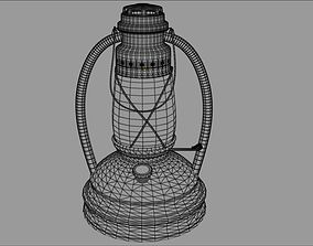Gas Lamp 3D model rigged
