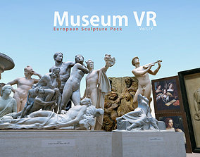 Museum pack - European Sculpture 3D asset