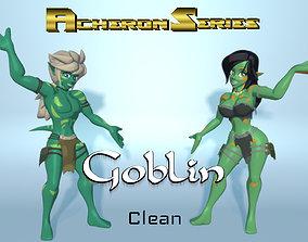 Acheron Goblin Clean 3D asset rigged