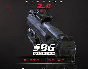 SBG Pistol 50 AE 3D model