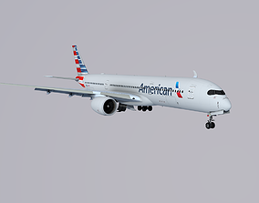 A350-900 American Airlines 3D model