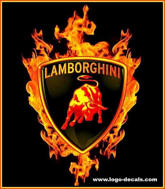 lamborghini fire logo