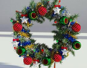 christmas Christmas Wreath 3D model