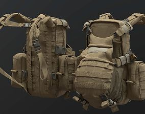 Tactical CARGO Backpack 3D model