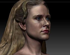 Westworld Dolores Abernathy Evan Rachel Wood Textured 3D 1