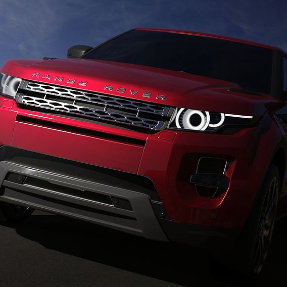Land Rover- Evoque Render