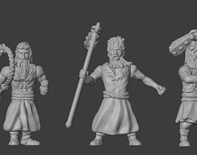 3D print model Flagellants Set 1