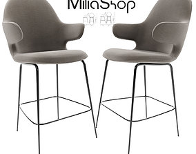 Catch And Tradition Bar Stool 3D model