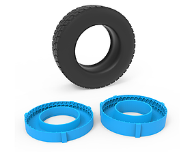 3D printable model Truck Tire Mold