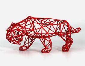 Saber Toothed Tiger 3D printable model