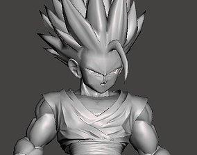 vegeta 3D print model Gohan Teen SSJ2 - Cell Saga