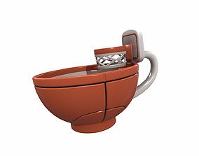 3D Basketball mug