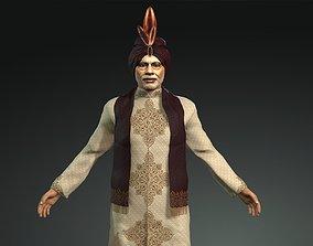 3D model rigged PM Narendra Modi
