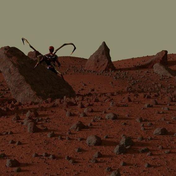 Spider-Man on Mars