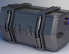 animated Crate SciFi - PBR Asset Low-poly 3D