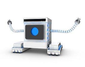 FBX Funny Robot Character 3D model