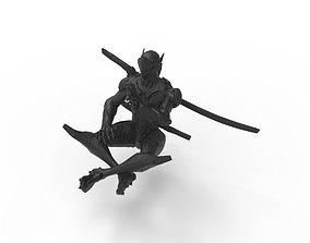 Genji statue 3D print model