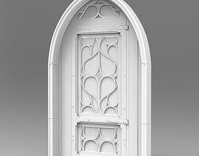 Gothic Door A 3D