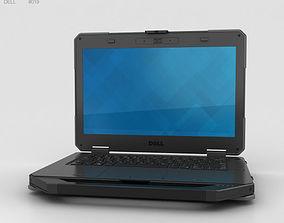 portable 3D model Dell Latitude 14 Rugged