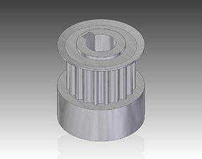 timing belt pully 3D print model