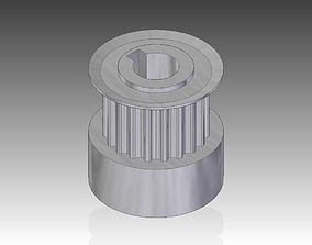 timing belt pully 3D print model