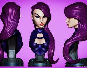 Campbells Psylocke Bust 3D print model