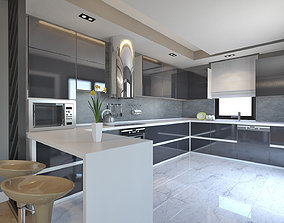 Kitchen model 3D