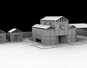 3D print model hangars