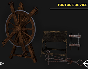 3D model Torture devices pack