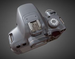 Canon Rebel T5i base mesh 3D