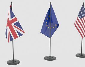 Flags 3D