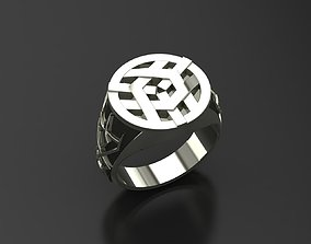 3D print model Men rings