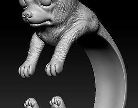 3D printable model chihuahua dog ring