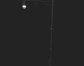 City Street Lamp 3D model