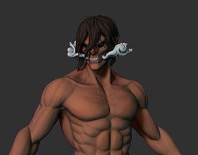 3D model Eren Jaeger -Titan Mode