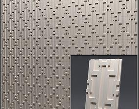 Gypsum 3D panel 30