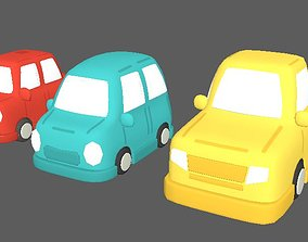 car toons pack 3 Vehicles 3D