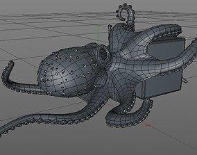 3D model Octopus animals