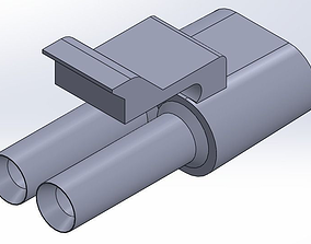 3D model Connector Delphi