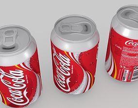 Coca Cola Can 02 3D model