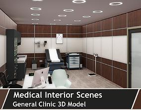 Clinic interior 3d model